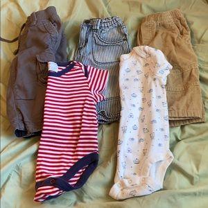 Baby boy 3-6 month 5 piece lot